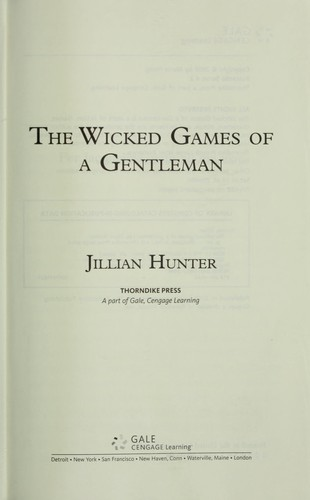 The wicked games of a gentleman