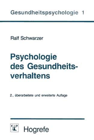 Download Psychologie des Gesundheitsverhaltens