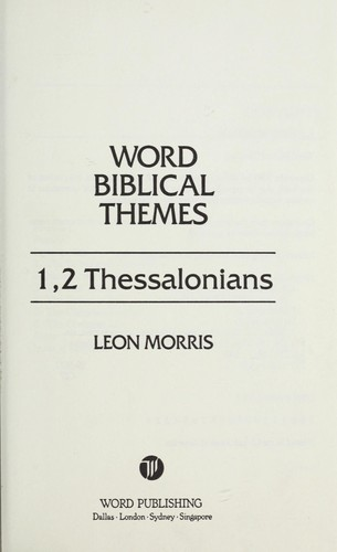 1, 2 Thessalonians