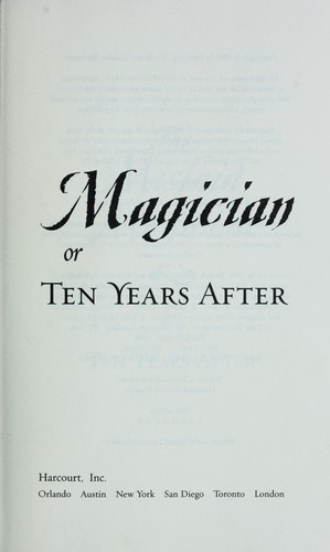 The mislaid magician, or, ten years after
