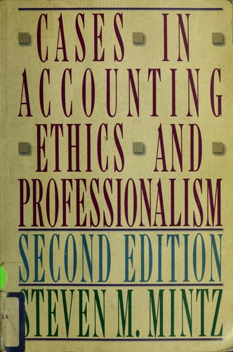 Cases in accountingethics and professionalism
