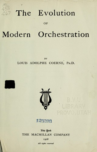 Download The history of orchestration