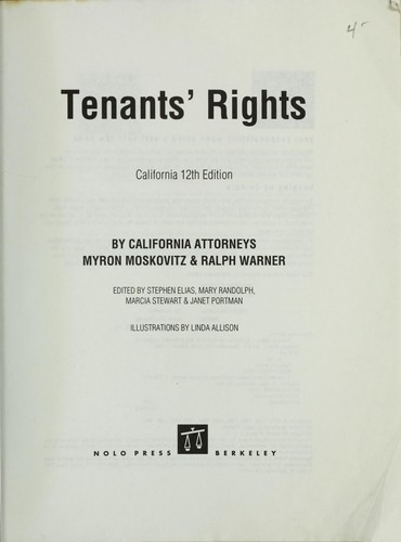 Download Tenants' rights