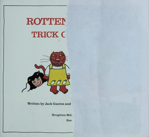 Download Rotten Ralph's trick or treat!