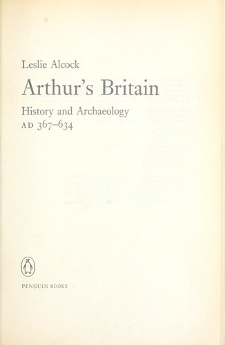 Download Arthur's Britain: History and Archaeology