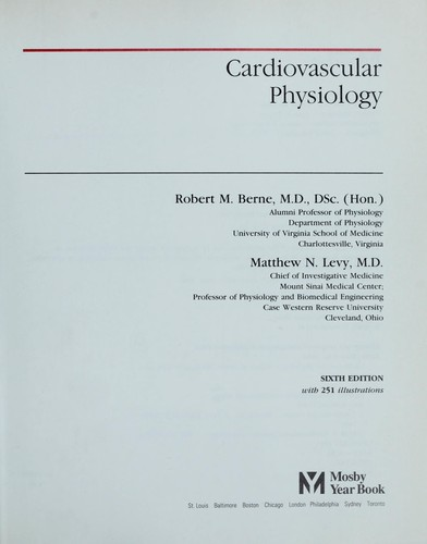 Download Cardiovascular physiology