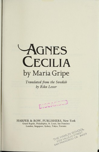 Download Agnes Cecilia