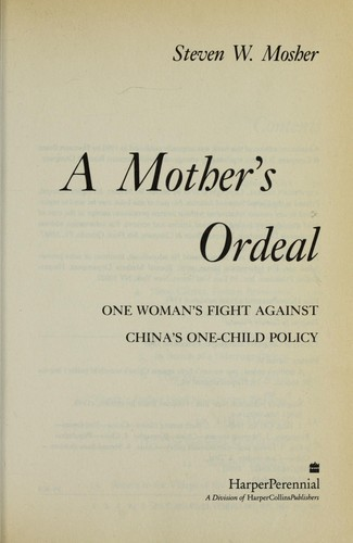 Download A mother's ordeal