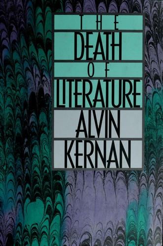 Download The death of literature