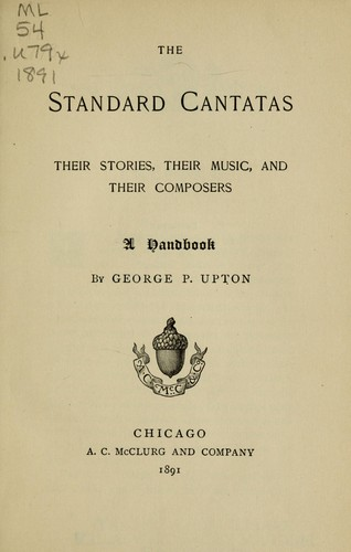 The standard cantatas