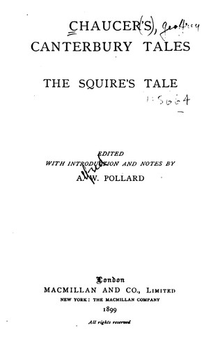 Download The Squire's Tale
