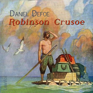Robinson Crusoe (version 2)(4284) by Daniel Defoe audiobook cover art image on Bookamo