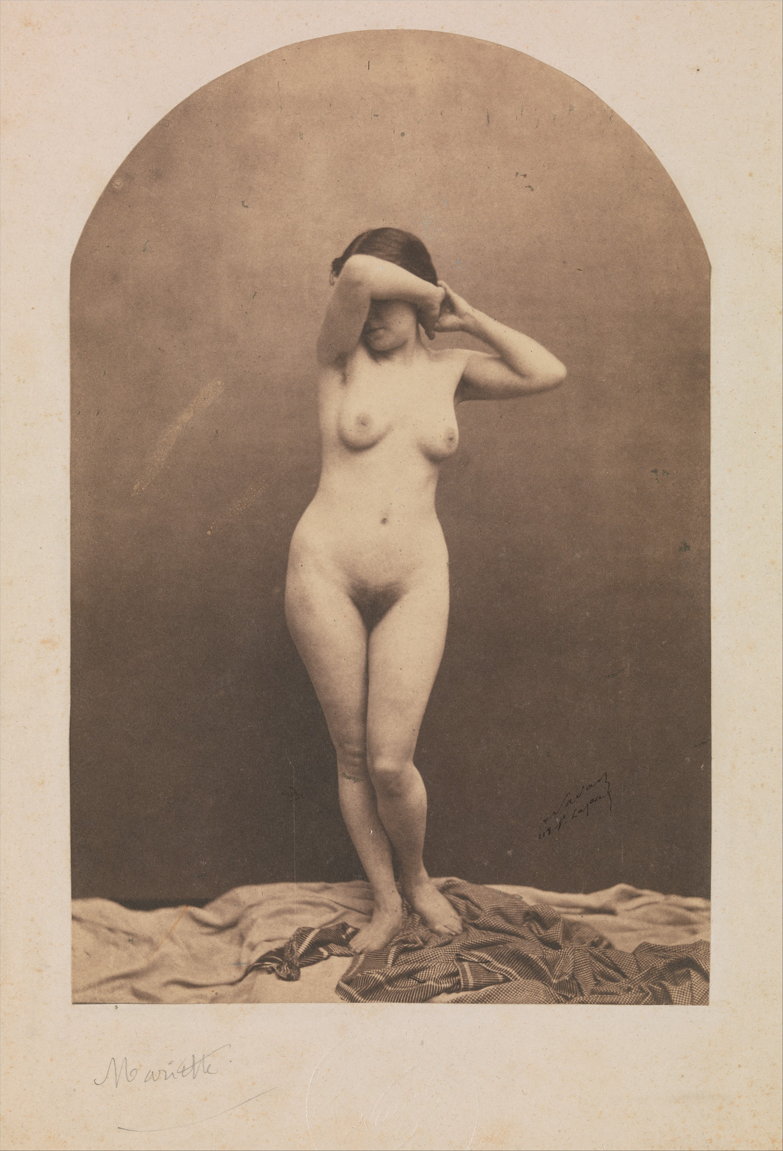 Seated Nude Woman Posters Prints By Theo Van Rysselberghe