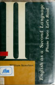 Cover of: English as a second language, phase two | William Samelson