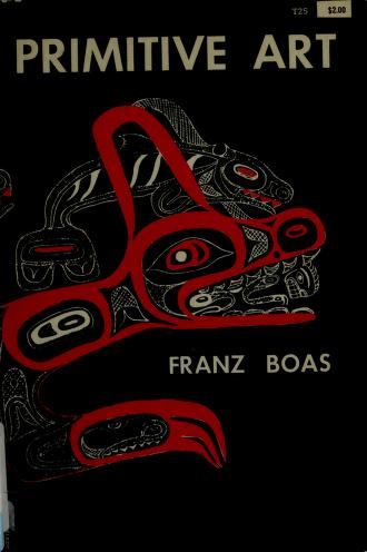 Primitive art by Franz Boas