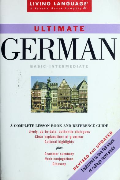 Ultimate German by Ingeborg Lasting