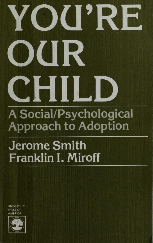 You're our child by Jerome Smith