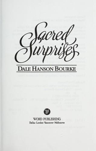 Sacred surprises