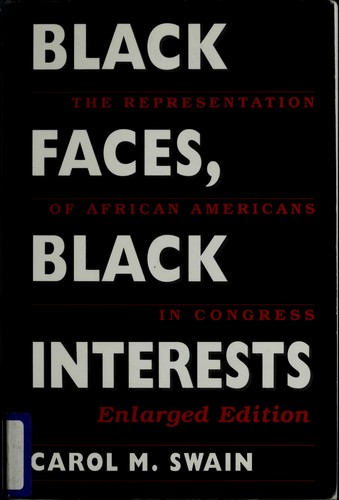 Black Faces, Black Interests