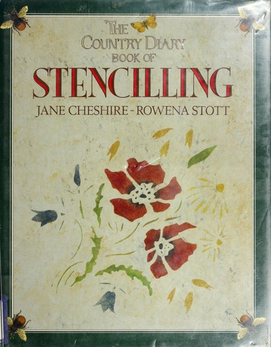 The country diary book of stencilling by Jane Cheshire
