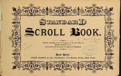Standard scroll book by David H. Moser
